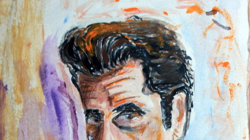 Al Pacino,acrylic painting by myself,..Peter
