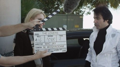 ON THE SET DIRECTING A FEATURE FILM. DEC 2012 , LOS ANGELES, CA