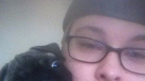 Me and my dog, lol