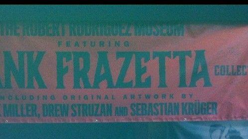 At Robert Rodrigues tribute to Frank Frazetta