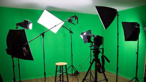 Setup in the studio