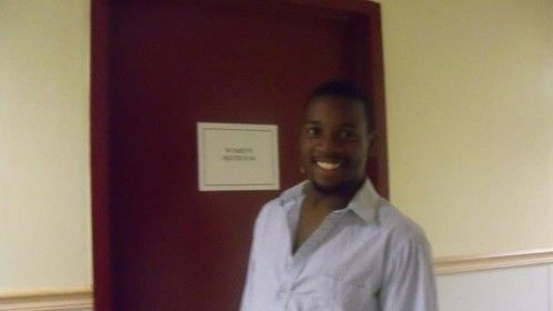 "A fuzzy backstage shot at an Off-Broadway production of ""Rent"" ...Had a blast playing him."