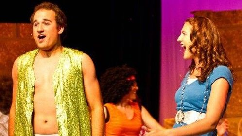"""Playing Narrator in """"Joseph and the Amazing Technicolor Dreamcoat."""""""