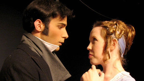 "Neil as Fitzwilliam Darcey in Acacia Theater's production of ""Pride and Prejudice."""