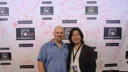 The 2012 Action On Film International Film Festival in Los Angeles, with Mortal Enemies director Asun Mawardi.