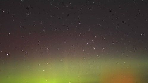 Northern lights in the Fall!