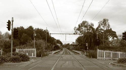 Albert Park Railway Station, Melbourne.