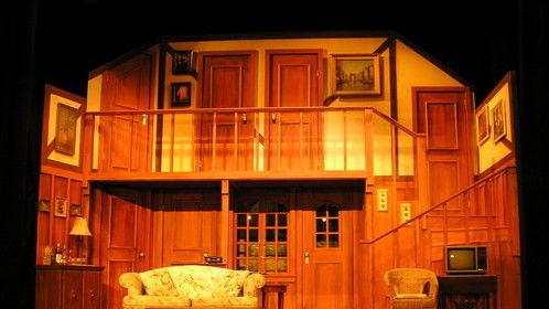 Noises Off - Set Designer and Set Carpenter - Metro Theatre
