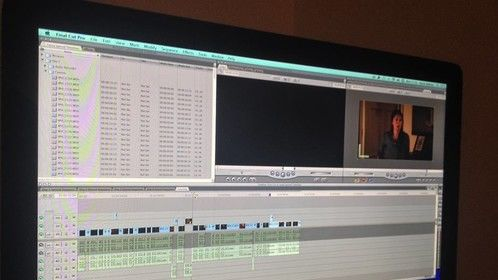 3 minutes of the edit complete of 'Lacey'!
