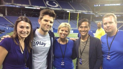 Working as a Stand-In on Park's and Recreation with Adam Scott