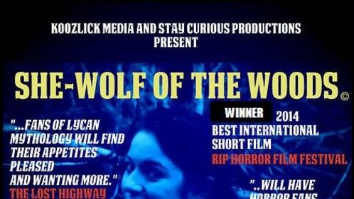 The award winning production filmed on location a stones throw from my home in Scotland.  Kinetic Studios provided the soundtrack for the short comedy horror feature.