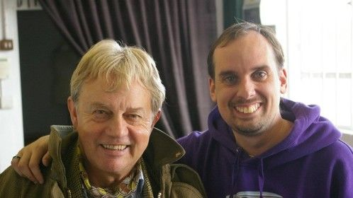 Working with Frazer Hines on the Set of G.O.D.TECH