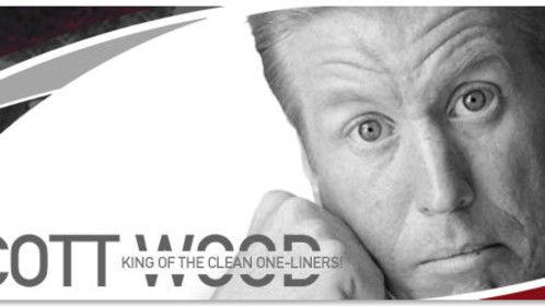 Mr. Punchline! Scott Wood. Comedian, Comedy writer, Actor & Cartoonist.