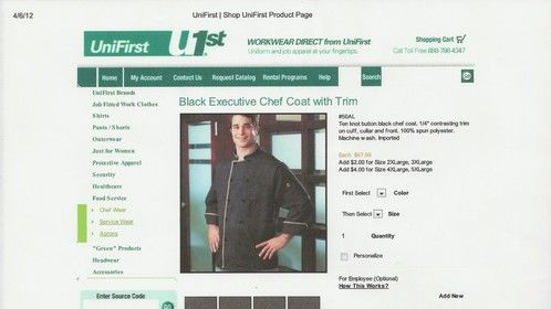 Unifirst Catalogue