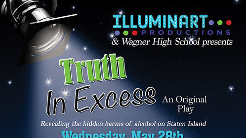 Our new play, now in rehearsal with Wagner High School students, reveals the consequences of underage and excessive drinking.