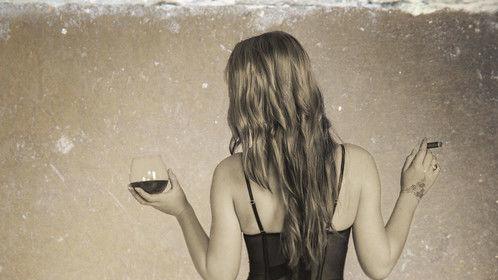Whisky and a sigar #boudoir