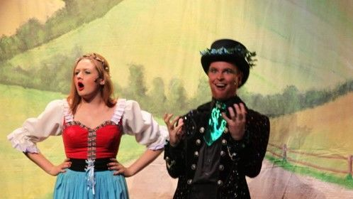 Mr. Creeper in Jack and the Beanstalk - Theatr Colwyn 2012