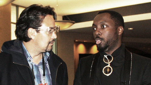 Having a chat with Will I Am