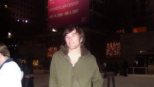 "Visiting NYC in 07 while on tour for ""Blackout"" play, written by Jared O'Kelley. ""Blackout"" explored loneliness and depression during times in which the reliable/dependable aspects of our life fail, tripping a house of cards effect."