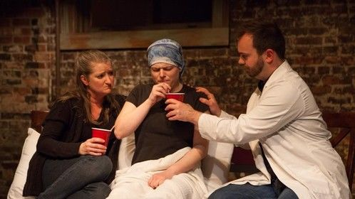 """Fantastic.Z Theatre's Original Works Festival 2014, Seattle.  """"The Last 10 Minutes"""" by Katie Kuntz.  Played: Martin/""""Marcia"""""""