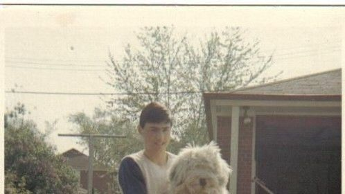 Mikee (age 13) with Duchess (age 6-months)