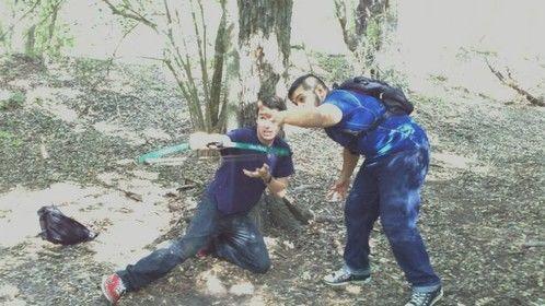 "Action Choreographer. ""Zombie Reign"" Promo #2. 2012"