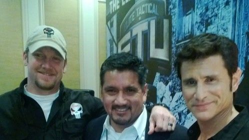 Chris Kyle (Rest in Peace), Rick Diaz and Mykel Hawke