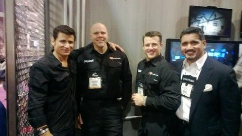 Rick Diaz with cast of Elite Tactical Unity on Outdoor Channel