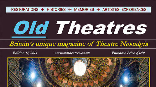 Britain's magazine of theatre nostalgia OLD THEATRES features Leeds Grand Theatre and Opera House on its cover and inside frontispiece. The architect George Corson embarked on a tour of grand European theatres before designing the Grand--his only theatre. More information: www.oldtheatres.co.uk