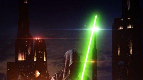 Fake movie poster poking fun at J.J. Abrams' love of lens flares...