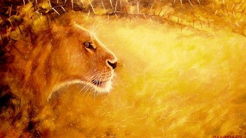 Some of my wildlife art- Kenya