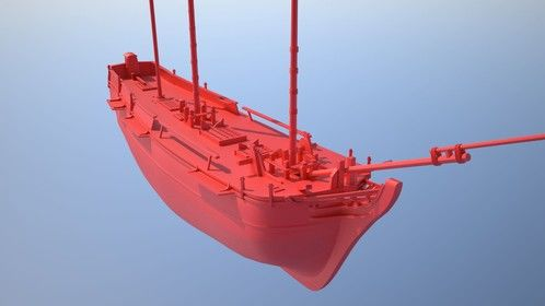 8 hours in on a 3D model for a physics based water simulation animation