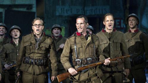 As 'Dedecker' in English Cast of #1418 Musical  15 June Mechelen, Belgium