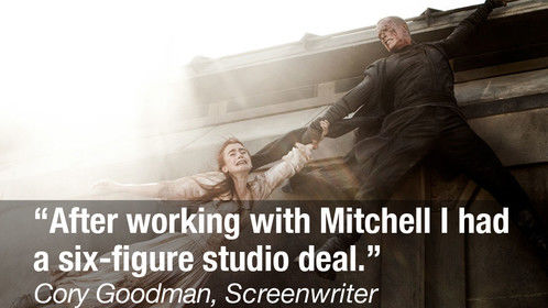 I'm proud to have helped so many aspiring screenwriters launch their professional careers with deals at Hollywood's major movie studios.  Read more about this success story and others at HollywoodEmbassy.com