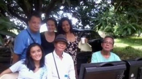 #Bacao film, with director, actors, writer and staff :)