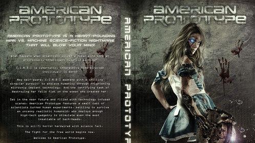 """American Prototype"" mock DVD slick"