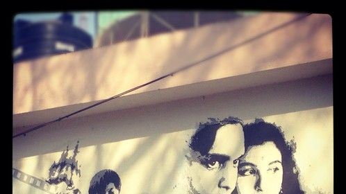 My painting at FTII