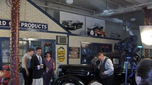 The Ford Motor Dealership set in Take the Moon.