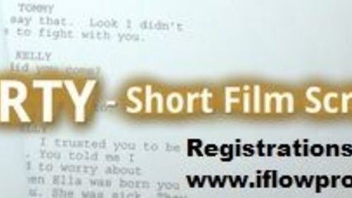 iFlow Productions 'Get Shorty - Short Film Script' Competition