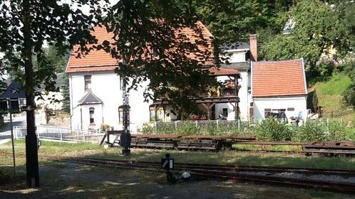 Rittersgrün, Saxony, Germany.