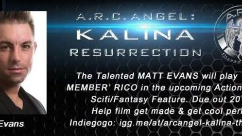 Be sure to pay a visit as well to ARC Angel: Kalina, which recently picked me up to star in their upcoming full feature which is slated for release in 2015. If you are interested in helping by means of our phenomenal funding campaign and or investing in this motion picture pleasure contact Myself, the designated campaign page or Director Ron C Santiano. Thank You.