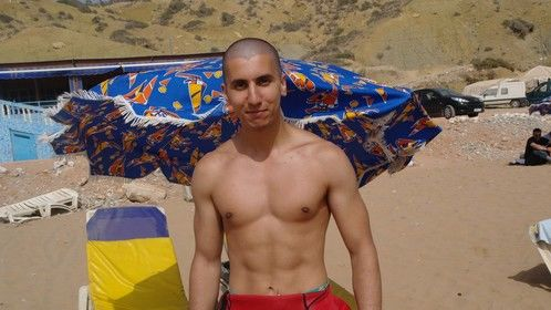 On vacation in Agadir, surfing!