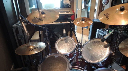 Kit in Live Room at Dream Studio Productions
