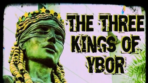 "Book cover for ""The Three Kings of Ybor - Vol. 4: August the 18th"""
