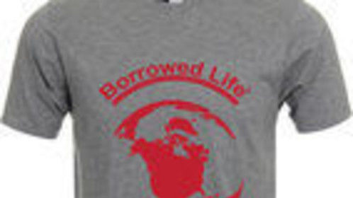 "Borrowed Life ""GLOBE"" t-shirt"