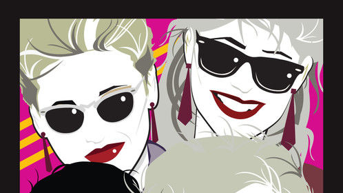 2014 Tour Poster. Homage to Nagel!