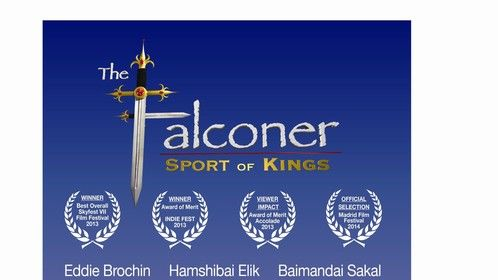 "Official One Sheet of The Falconer ""Sport of Kings"""