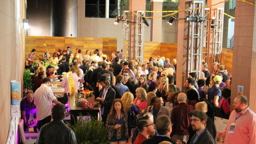 Party Time at NaFF -- happens every night for 10 days of the festival. Screenwriters and filmmakers love Nashville's convergence of film, music, and Southern charm.