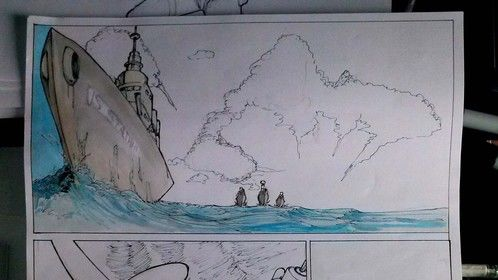 The Mark 6 graphic novel in development.