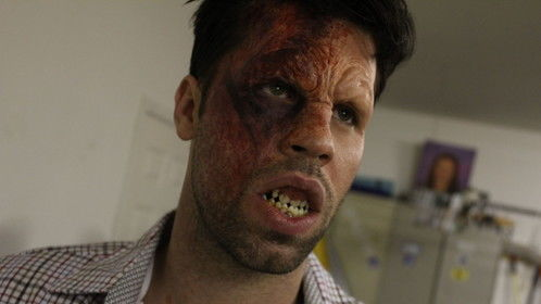 Awesome work by my special effects MUA, Eric Haskell.